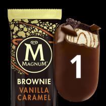 Magnum Brownie Vanilla Caramel 1x