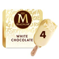 PNG - Magnum Multipack White Chocolate 4MP 4X110ML