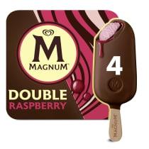 Magnum Double Himbeere x 4