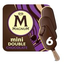 Magnum Mini Double Chocolate x6
