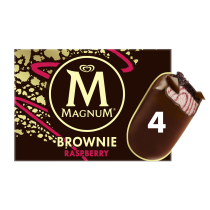 PNG - Magnum-Brownie-Raspberry-4x-8711327393622