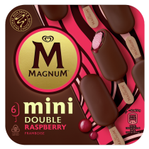 PNG - Magnum Double Raspberry Ice Cream Lolly 360ml