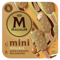 PNG - MAGNUM Ice Cream Lolly DOUBLE GOLD CARAMEL BILLION 330 ML
