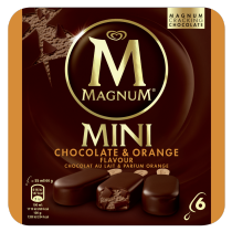 Magnum Mini Chocolate&Orange 6 kpl