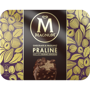 Mini double chocolat magnum - Magnum chocolat blanc ...