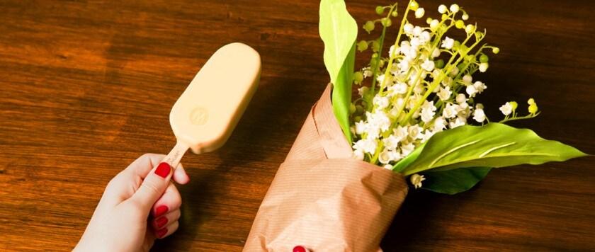 Magnum chocolat blanc et glace vanille magnum belgique - Magnum chocolat blanc ...
