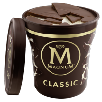 PNG - Magnum Classic Pint Transparent Background Hero Propped Lid Off