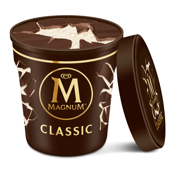 Magnum Tub Classic Chocolate Ice Cream 440ml