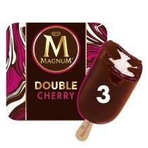 PNG - Double Cherry Ice Cream 3 x 88ml