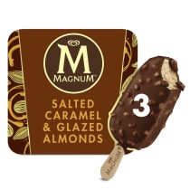 PNG - Magnum Ice Cream Lolly SALTED CARAMELandGLAZED ALMON 270 ML