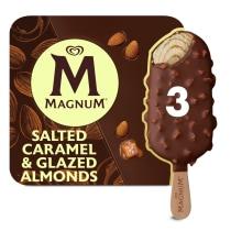 Magnum Collection Salted Caramel y Almendras Caramelizadas x3