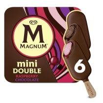 PNG - Magnum Ice Cream Lolly DOUBLE CHOC_RASPBERRY 360 ML