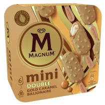 Magnum Mini Double Gold Caramel Billionaire 6kpl