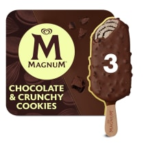 PNG - Magnum Ice Cream Lolly CHOCOLATE CRUNCHY COOKIES 270 ML