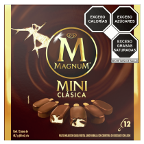Magnum Mini Clásica x 12 | Helados Holanda México