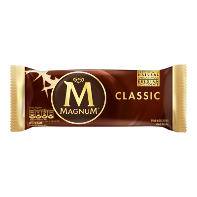 How many mL is a Magnum ice cream