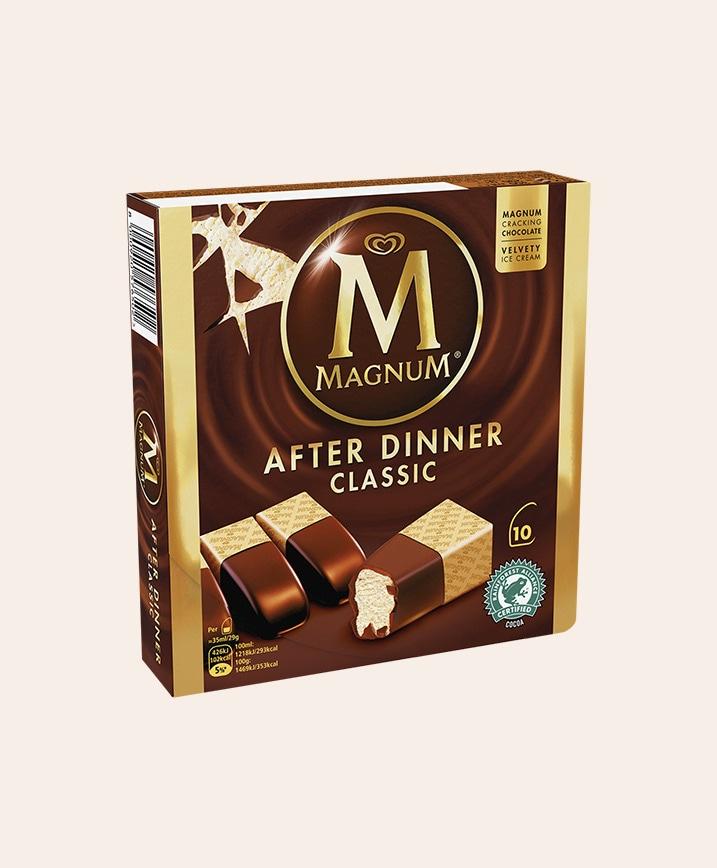 Magnum after dinner