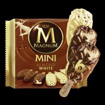 Magnum Mini White Almond 345ml