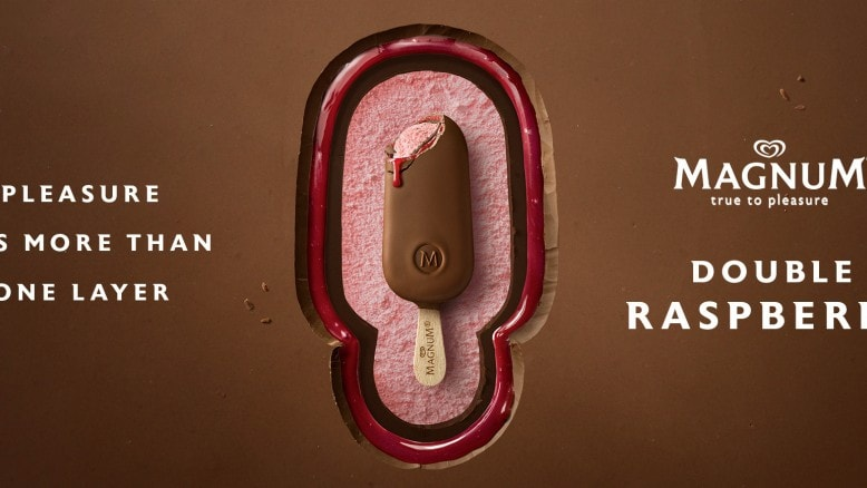 PLEASURE HAS MORE THAN ONE LAYER - MAGNUM DOUBLE RASPBERRY