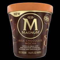 Milk Chocolate Mocha Ice Cream Tub Front of Pack