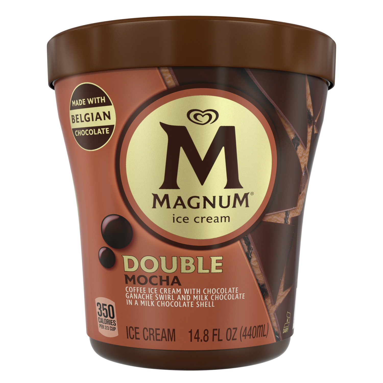 Milk Chocolate Mocha Ice Cream Tub Magnum