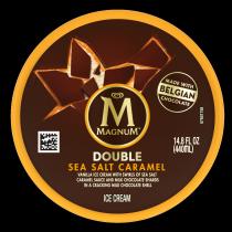 Double Sea Salt Caramel Ice Cream Tub Back of Pack