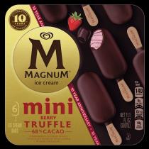 PNG - Magnum Ice Cream Mini Berry Truffle 6 PC