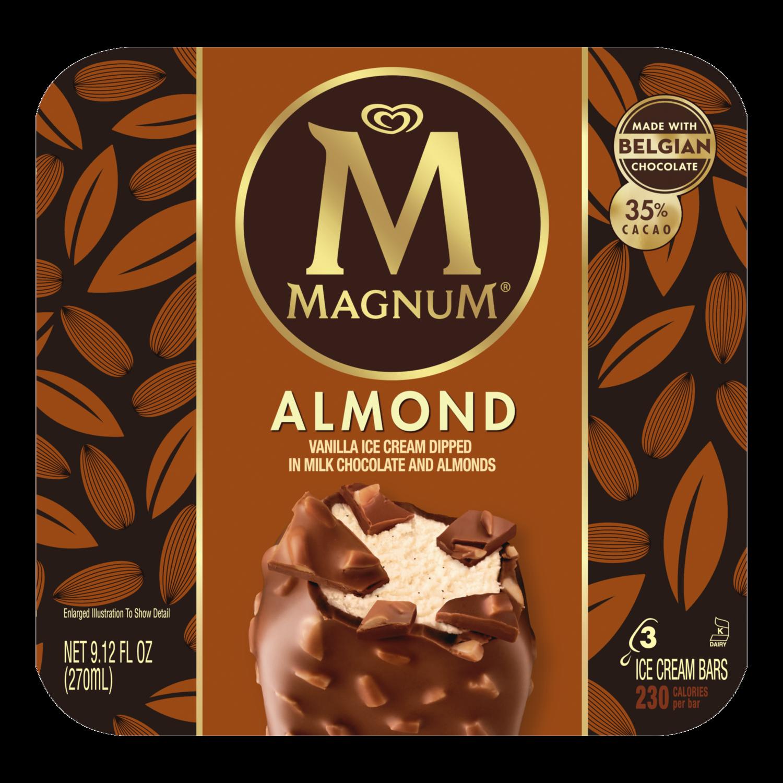 Almond Ice Cream Bar   Magnum