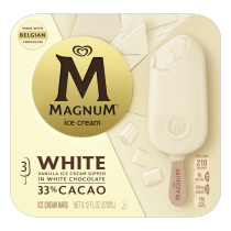 PNG - Magnum Ice Cream Bars For A Delicious White Ice Cream Treat White Made