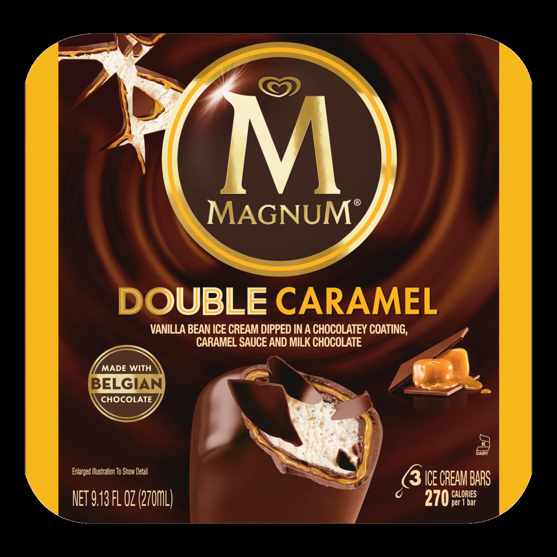 Double Caramel Ice Cream Bar   Magnum
