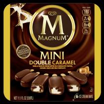 Mini Double Caramel Ice Cream Bar   Magnum