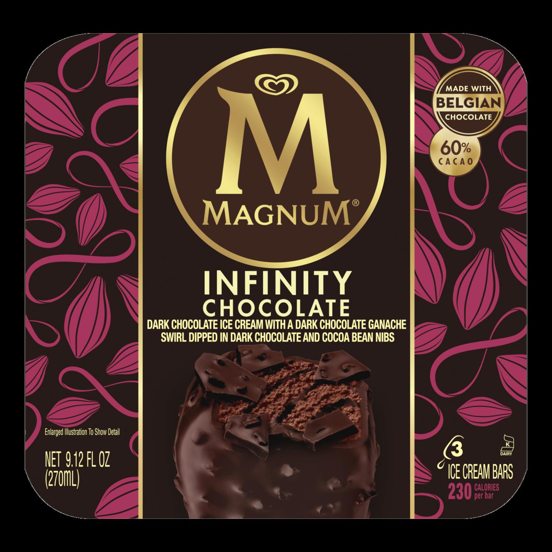 Infinity Chocolate Ice Cream Bar   Magnum