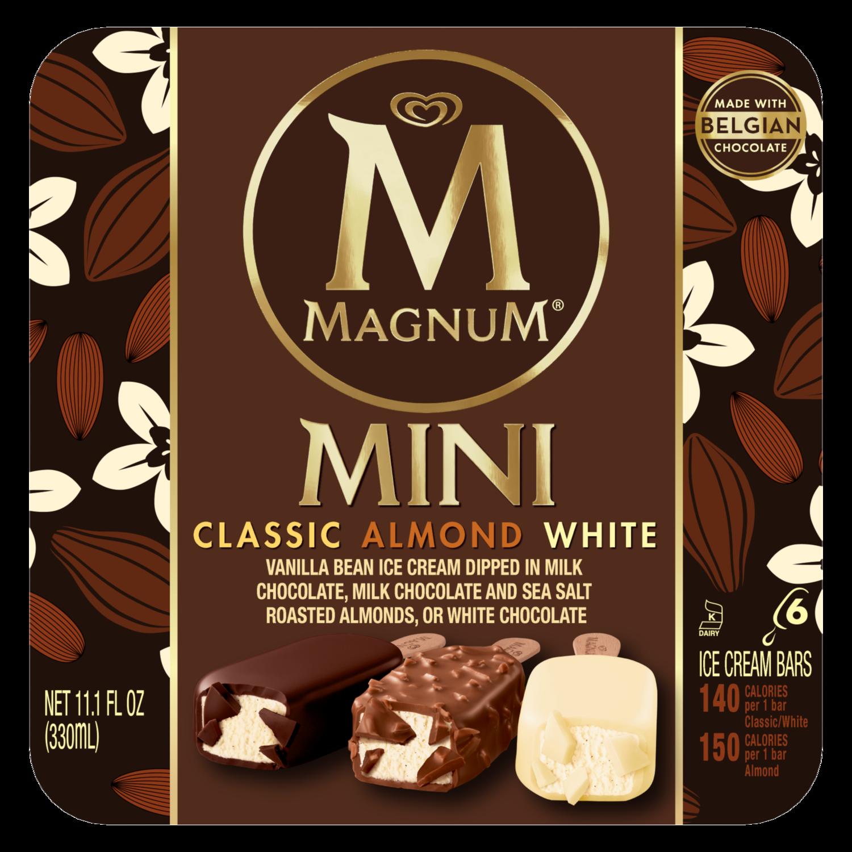 Mini Classic, Almond, White Ice Cream