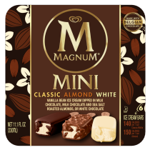 Mini Classic Mini Almond White Ice Cream Bar Variety Pack | Magnum