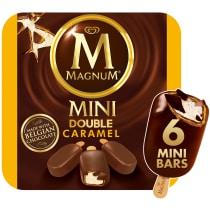 PNG - Magnum Mini Double Caramel Ice Cream Bars 6 ct